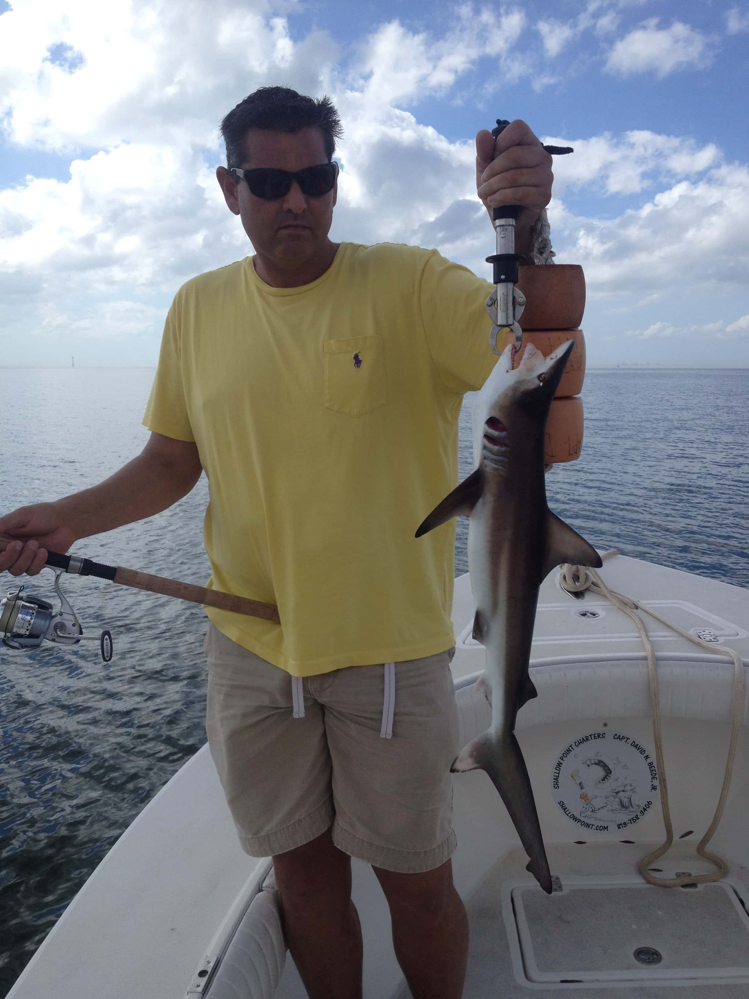 Full time tampa bay fishing charter captain david beede for Tampa florida fishing charters