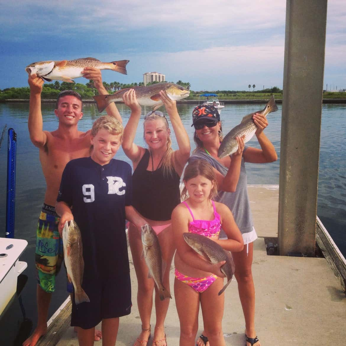 Schools Out Tampa Florida Kids Fishing