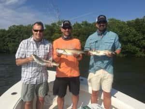 Corporate Guys Fishing Tampa Bay 813-758-3406