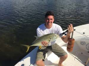 Fishing Charter Client went doubles on these Jack Crevalle