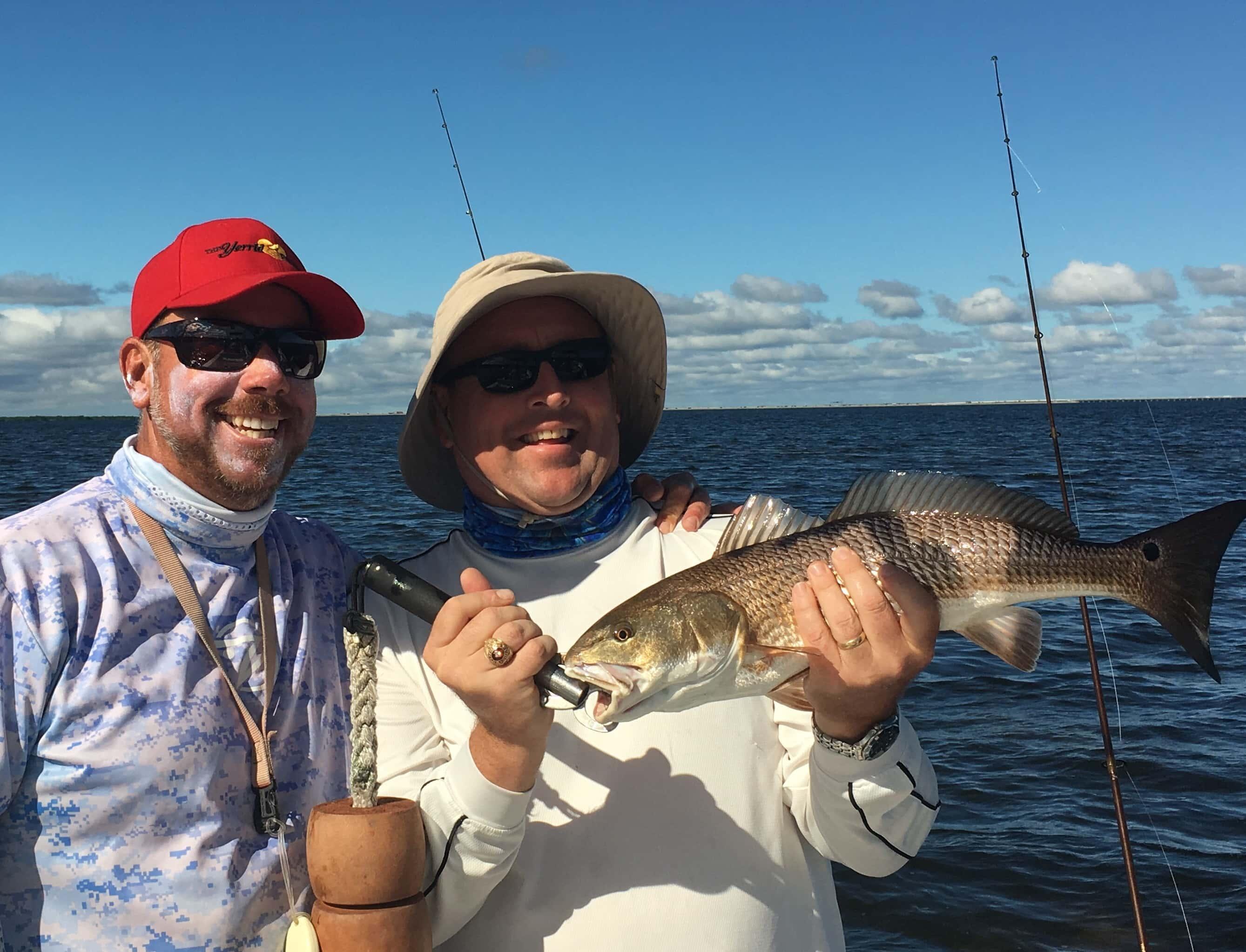 December fishing tampa florida 813 758 3406 shallow for Fishing tampa bay