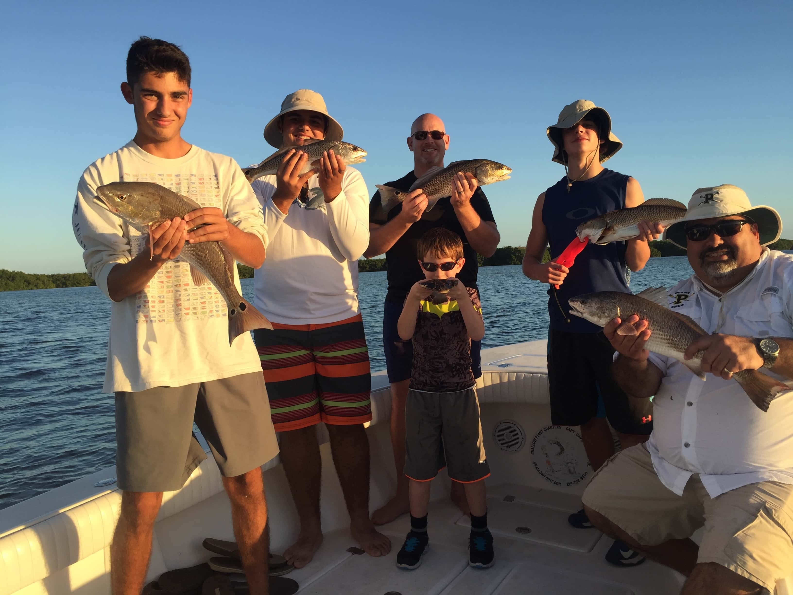 December fishing tampa florida 813 758 3406 shallow for Fishing charters tampa
