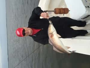 Before the storm we whacked the redfish