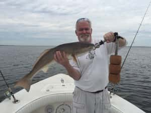 Overslot Redfish Pull the Drag and make great memories