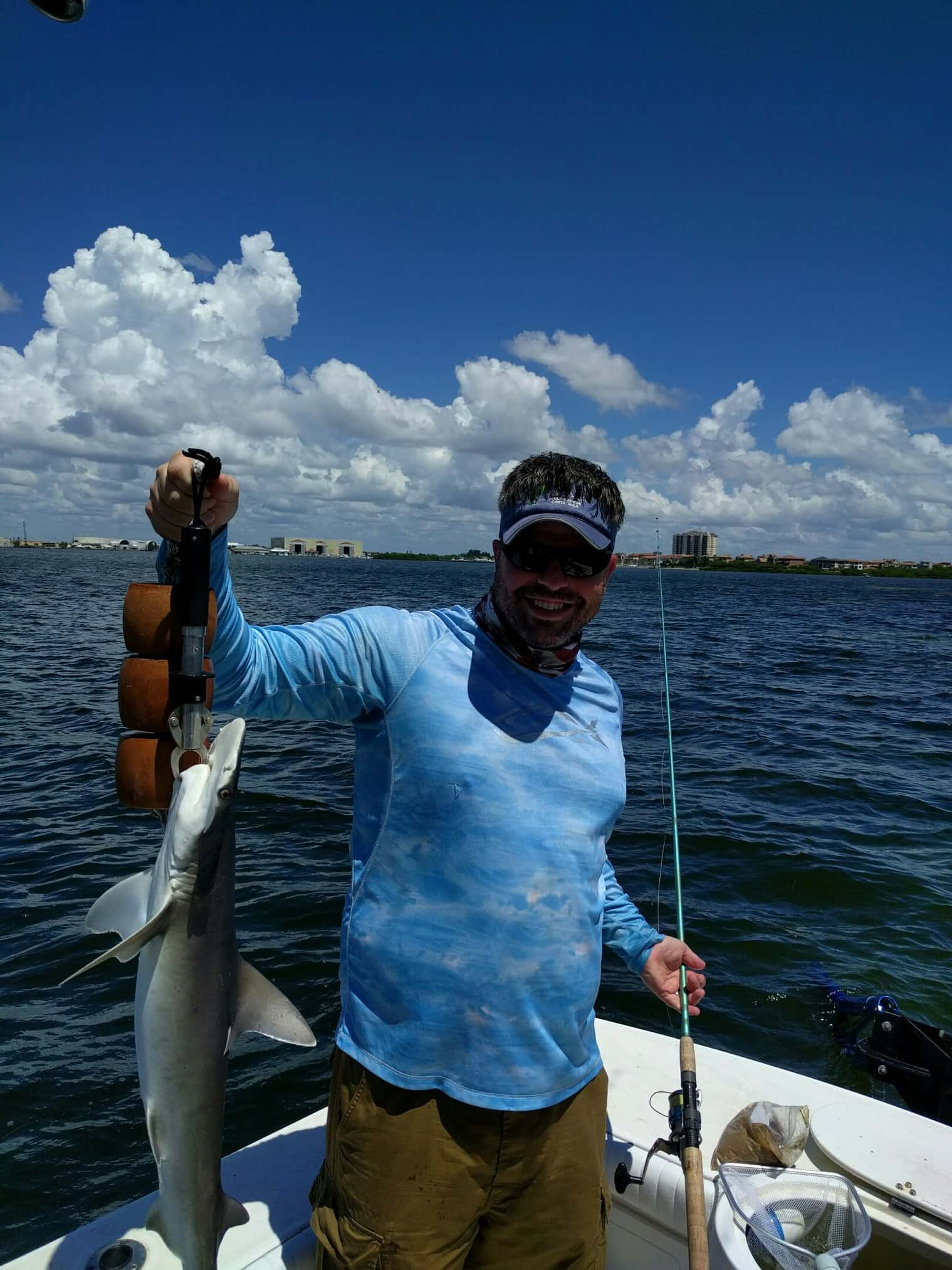 Tampa bay florida fishing charters 813 758 3406 for Charter fishing tampa