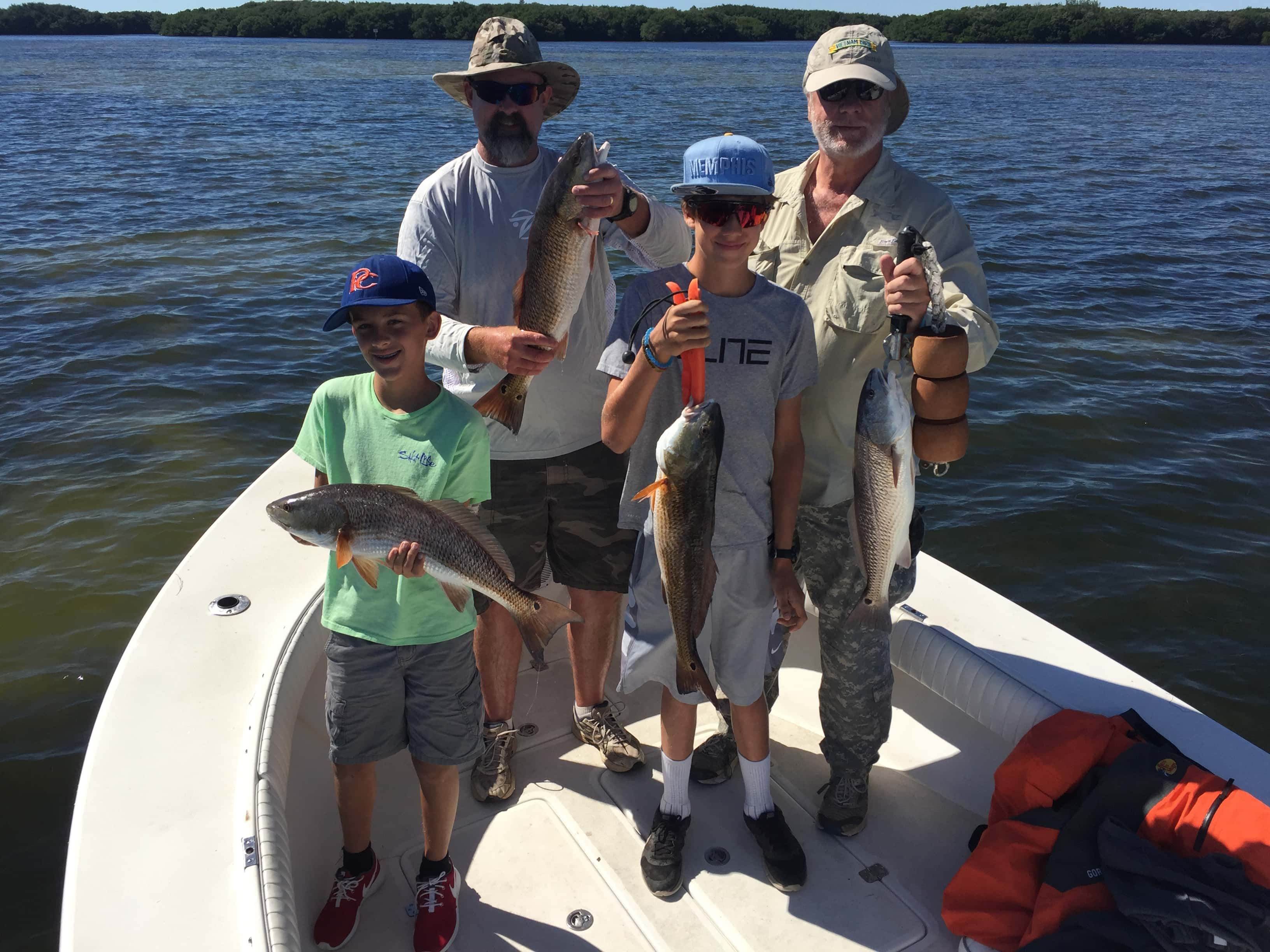 Fishing charters tampa florida october november shallow for Fishing charters tampa